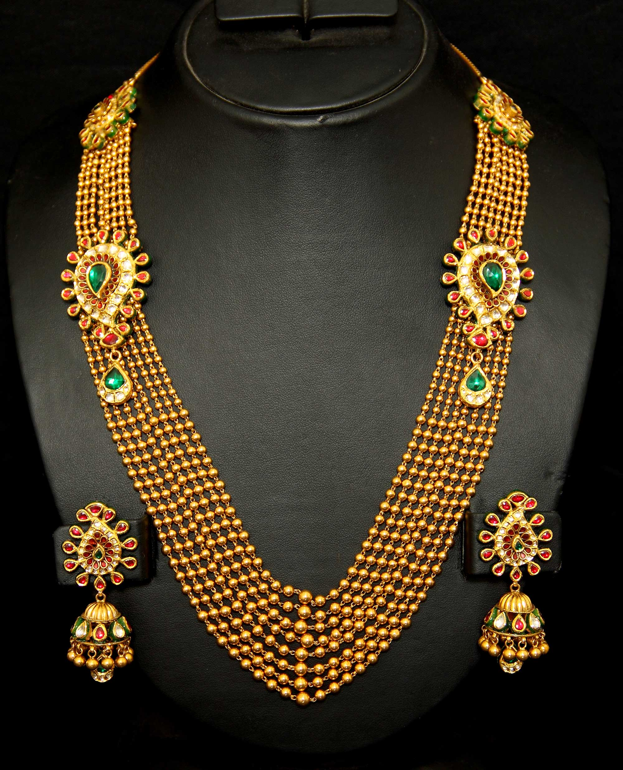 Beautiful New Designs In Gold Necklace Sets | Jewellry\'s Website